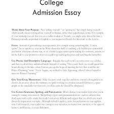 Example Of Personal Essays Example Essay For College Maggi Hub Rural Co Pertaining To