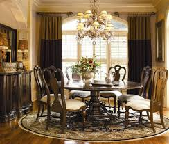 This Beautiful Round Dining Table Seats Eight! This Is A Must Have For  Formal Or Informal Spring And Summer Entertaining!