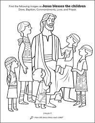 Small Picture Kids Having Fun with New Book of Mormon Stories Coloring Book