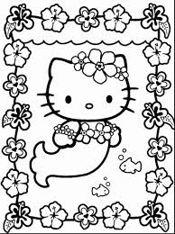 Hello Kitty Coloring Pages Free Printable Inspirational Stunning