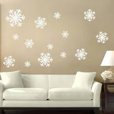 snowflake wall decals as well as white snowflake wall decals gan