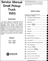 1985 dodge ram wiring diagram 1985 image wiring 1985 dodge ram 50 truck repair shop manual original on 1985 dodge ram wiring diagram