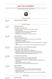 Attorney Resume Mesmerizing Associateattorneyresume Example Inspiration Graphic Associate