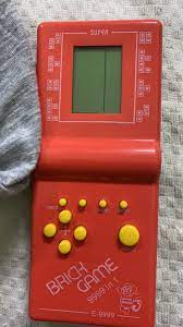 Máy chơi game cầm tay xếp hình, Đồ chơi xếp hình Brick Game (Hàng mới)  new2019
