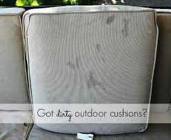 how to clean patio cushions with mildew
