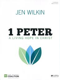1 peter study book a living hope in christ jen wilkin 9781430051541 book