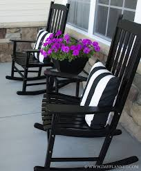 i love the black can spraypaint my rocker neat porch with inside outdoor rocking chairs ideas 9
