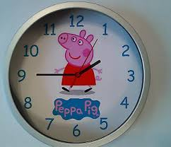 cool looking clocks. Unique Cool Peppa Pig One Off Great Design Cool Looking Childrens Clock Throughout Cool Looking Clocks A