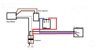 ac unit thermostat wiring diagram wirdig air conditioner compressor wiring diagram image wiring diagram