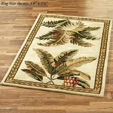 tropical indoor outdoor area rugs awesome palm leaf rug fish tree in popular le