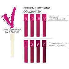 Celeb Luxury Viral Extreme Colorwash Hot Pink