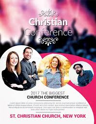 Christian Conference Church Psd Flyer Template Download