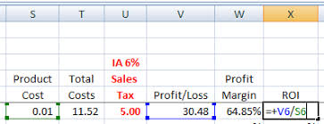 How To Set Up Your Ebay Sales Spreadsheet Inexpensive Ebay