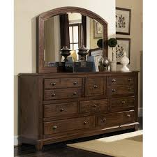 Wildon Home  10 Drawer Dresser with Mirror u0026 Reviews  Wayfair