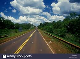 Two Lane Highway Paved Road Roadway No Passing Zone Do Not Pass