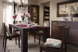 modern dining room colors. Modern Dining Room With Natural Dark Colors O