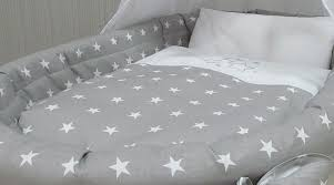 grey stars bedding moses basket