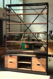 2 Wahl Industrie Bücherregal Schrank B 163 Cm Mit Leiter