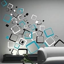 Small Picture Abstract Wall Decals Wall Art Decor Stickers Trendy Wall Designs