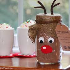 Mason Jar Decorations For Christmas Reindeer Food Christmas Craft Idea using a Mason Jar Reindeer 26