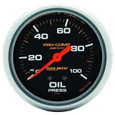 auto meter 6601 pro comp air core pedestal tachometer 10k rpm 3 3 4 auto meter 5421 pro comp mechanical oil pressure gauge 100 psi 2