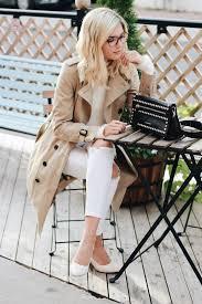 the trench coat trend has never been hotter venice greel wears this stunning beige coat