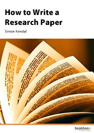 to write a research paper how to write a research paper