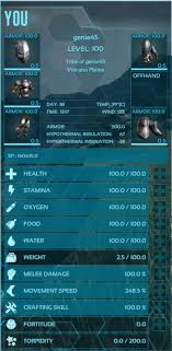 Attributes Official Ark Survival Evolved Wiki