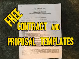 Free Sample Contracts & Project Proposals- Landscaping, lawn care ...