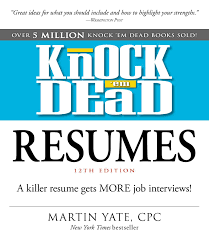 Resume Book Knock 'em Dead Resumes Book By Martin Yate Official Publisher 21