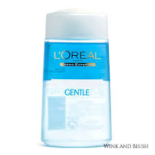 l oréal gentle lip and eye make up remover for waterproof make up