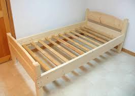 wooden bed base plans