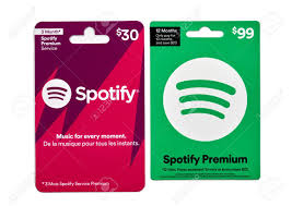 Montreal, Canada - April 6, 2020: Spotify Gift Cards. Spotify.. Stock  Photo, Picture And Royalty Free Image. Image 144362108.