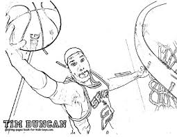 Nba Players Coloring Pages Car Essay