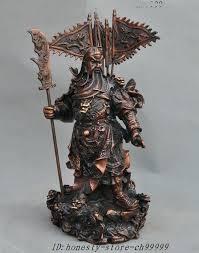 chinese warrior garden statue bronze 9 dragon generals warrior statue sculptures chinese terracotta warrior statues garden