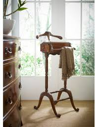 Mens Suit Valet Mahogany Clothing Valet Stand 45