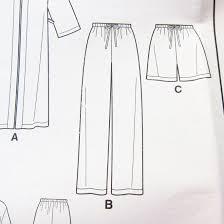 Pajama Pants Sewing Pattern