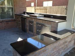 vimal patel outdoor kitchen with bench seating