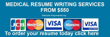 Medical Resume Writing Services