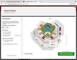 Cbp Seating Chart Accessible Gameday Philadelphia Phillies Baseball