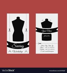 Tailors Visiting Card Design Design Business Card Tailor