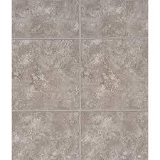 wellmade luxury vinyl tile 5 piece 12 in x 36 in gray interlocking vinyl tile