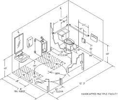 bathroom dimensions. Modren Bathroom Bathroom Innovative Ada Dimensions With Photo On Bathrooms  For N