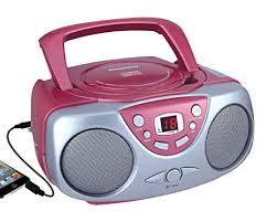 Amazon.com: Sylvania Portable Cd Player \u0026 AM/FM Radio Mega Bass Reflex Boombox Sound System: Home Audio Theater