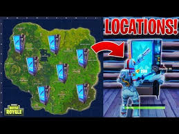 Vending Machines Locations Enchanting How To Find SECRET VENDING MACHINES IN FORTNITE Locations NEW