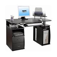 office computer tables. TECHNI MOBILI Atua Wood Computer Desk In Espresso Office Tables