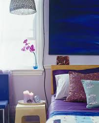 Purple And Blue Bedroom Bold Color Schemes For Bedrooms