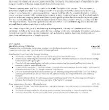 Mba Resume Examples Business School Resume Samples Curriculum Vitae
