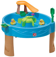 amazoncom step duck pond water table toys  games