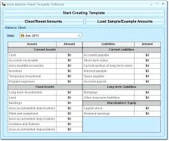 Projected Balance Sheet In Excel Excel Balance Sheet Template Free Download Excel Balance